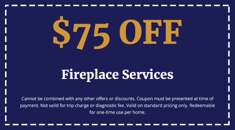 Discounts on Fireplace Services