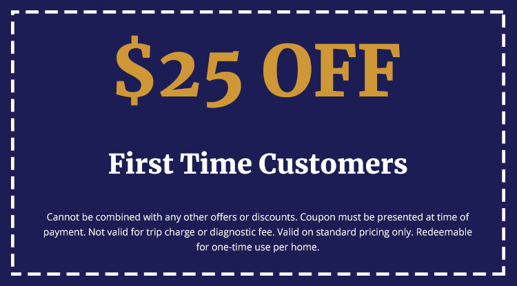 Discounts on First Time Customers