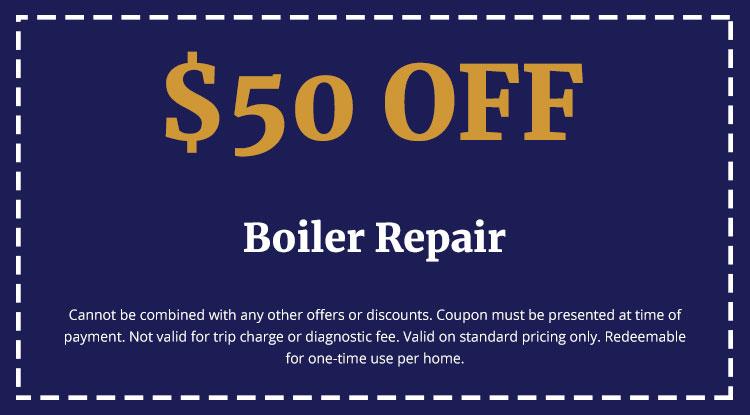 Discounts on Boiler Repair